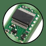 built-in microchip