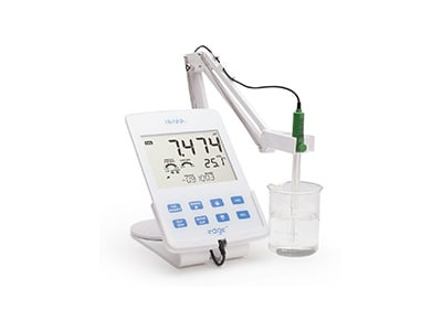 Edge Tablet pH Meter by Hanna Instruments. HI2002