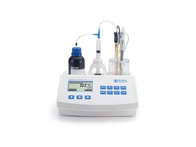 Hanna Instruments mini titrator for dairy.
