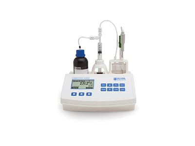 Hanna Instruments Mini titrator for water and lab use. HI84531