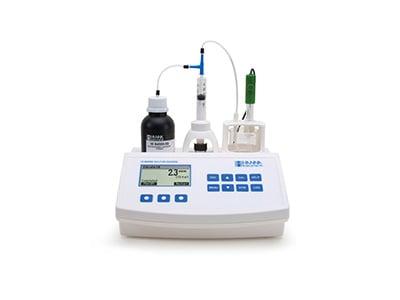 Hanna Instruments mini titrator for wine and juice. HI84500