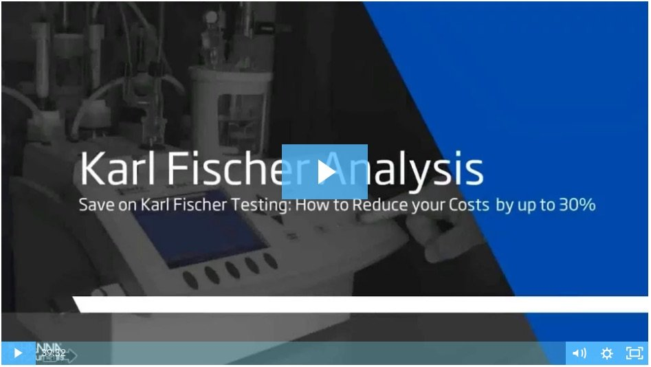 Karl Fischer titrations webinar video