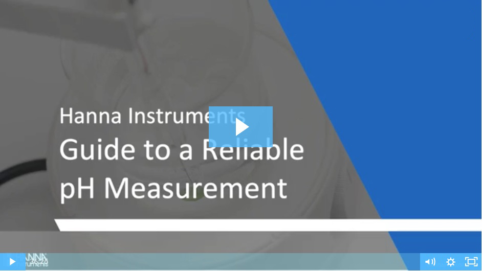 Guide to reliable pH measurement webinar video