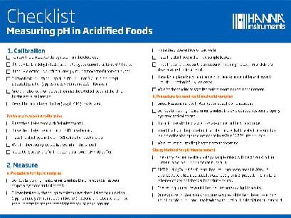 checklist-food