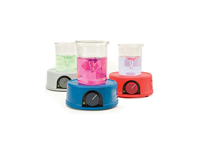 Compact magnetic mini stirrers. HI180