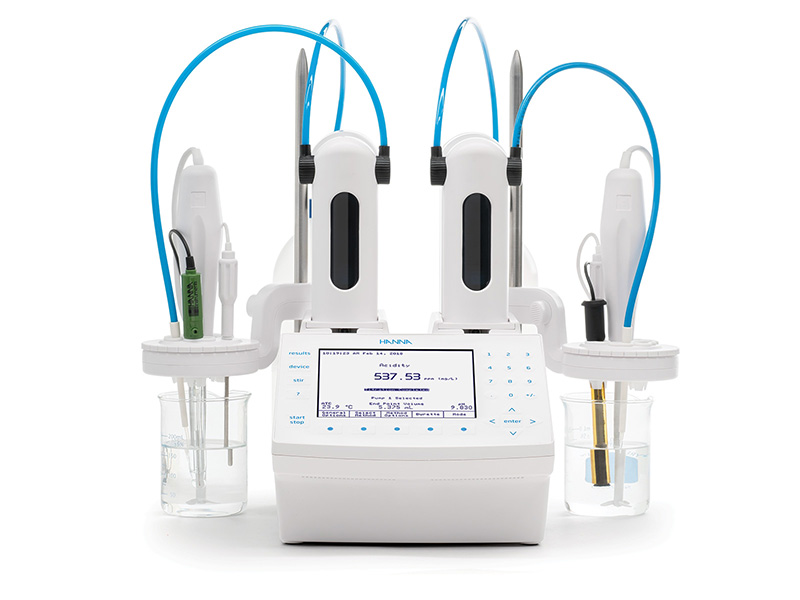 Hanna Instrument's Advanced Automatic Potentiometric Titrator. The answer to your advanced titration needs.