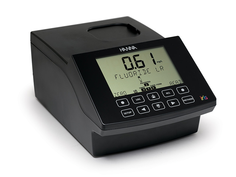 The iris is a sleek and intuitive spectrophotometer that allows for measurement of all wavelengths of visible light.