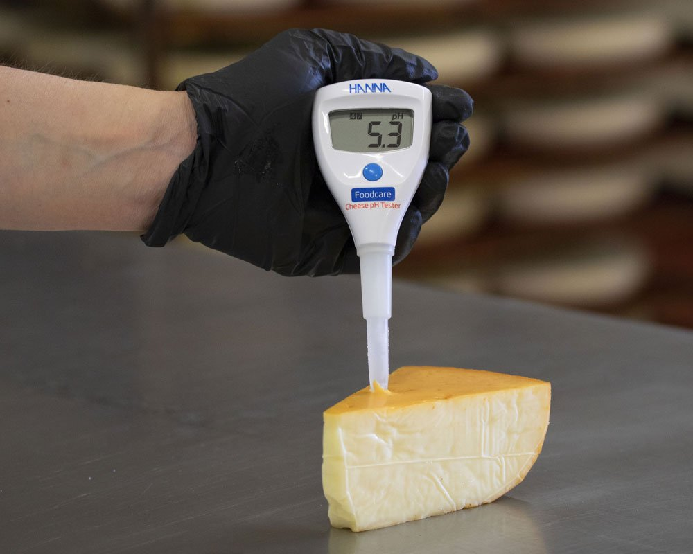 HI981032-Cheese-pH-Tester-in-Gouda-Rack