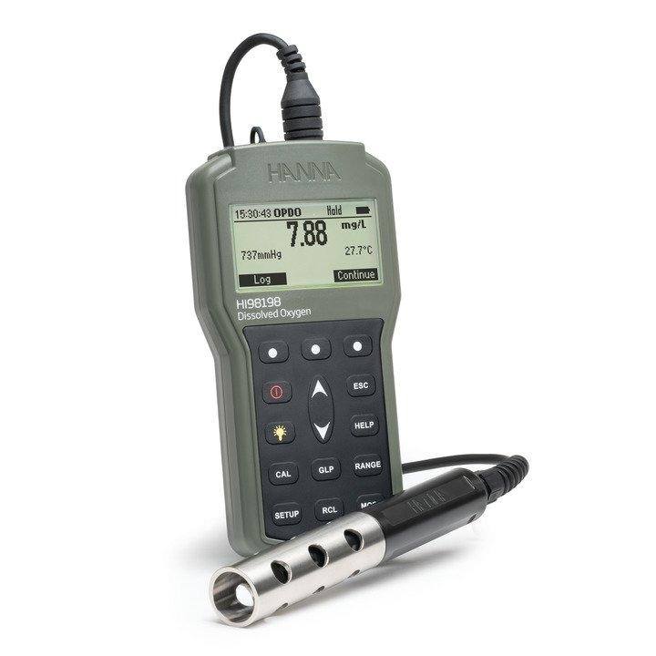 Advanced Optical Dissolved Oxygen Meter - HI98198