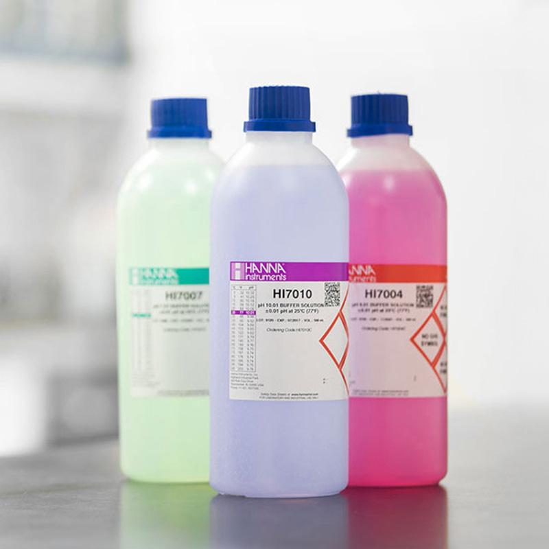 hanna-buffer-solution-bottles