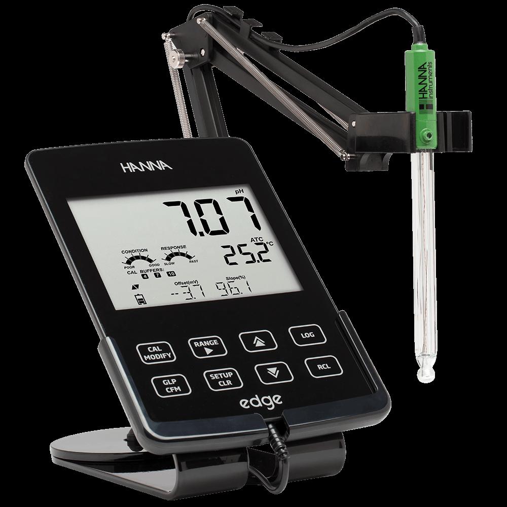 Hanna Instruments edge Tablet pH, EC, & DO meter.